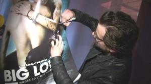 Antonii Pawlicki podczas pokazu filmu 'Big love'