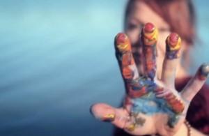 Kadr z klipu 'Mimochodem'