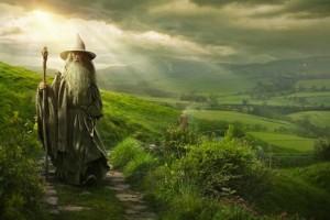Plakat promujący film 'Hobbit Niezwykła podróż'