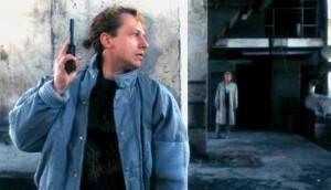 Bogusław Linda i Marek Barbasiewicz w ''Zabij mnie, glino'', fot. KinoRP