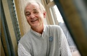 "Actor Bill Murray is photographed at the Waldorf Astoria, Friday, Oct. 3, 2008, in New York, while in town to promote his new film ""City of Ember."" (AP Photo/Diane Bondareff) ORG XMIT: NYET661"