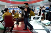 J.J. Abrams na planie filmu Star Trek