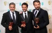 Clooney, Haslov, Affleck z nagrodami BAFTA