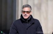 "George Clooney na planie filmu ""The Monuments Man"""