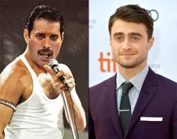 Daniel Radcliffe jako Freddie Mercury
