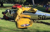 Harrison Ford w szpitalu po katastrofie samolotu